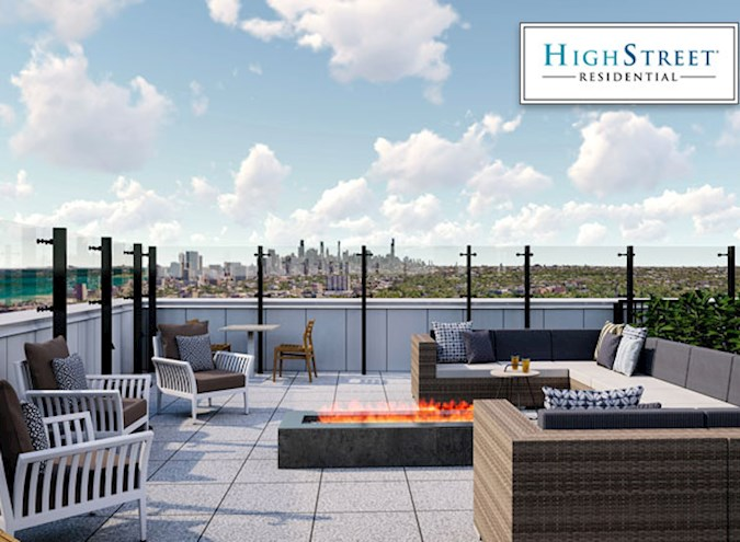 High Street Residential Completes Newest Active-Adult Community in Evanston, Illinois